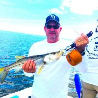 Nice soutshore snook caught during a corporate fishing tournament in Tampa Bay