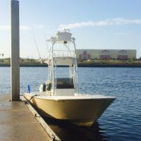St Pete fishing charter boat used is a Marauder Marine Avenger 25 ft